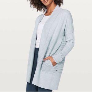 Lululemon | Sit in Lotus Wrap Cardigan Sweater